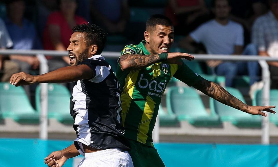 Tondela-Nacional, 1-1 (resultado final)