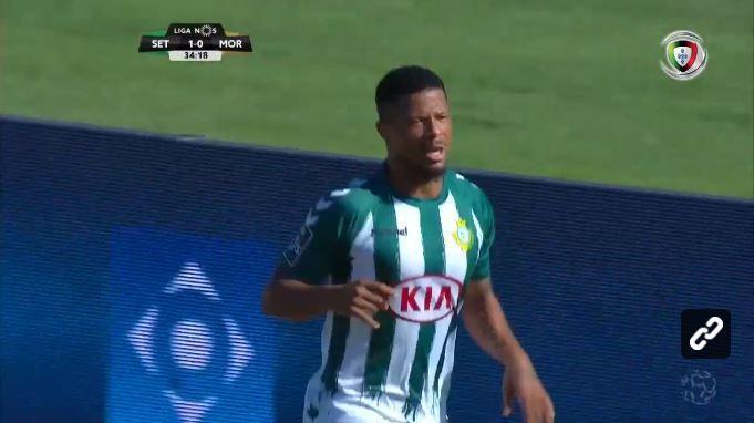VÍDEO: a dez minutos do intervalo, Berto dá vantagem ao Vitória