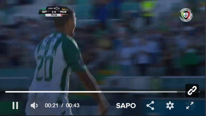 VÍDEO: Berto bisa da marca dos onze metros e Vitória amplia