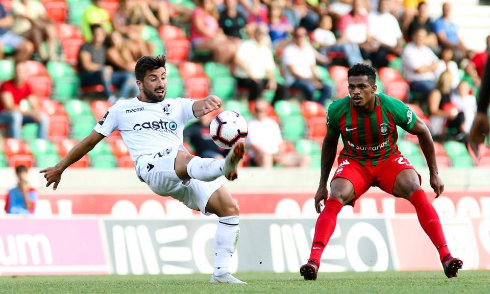 Marítimo-V. Guimarães, 1-3 (resultado final)