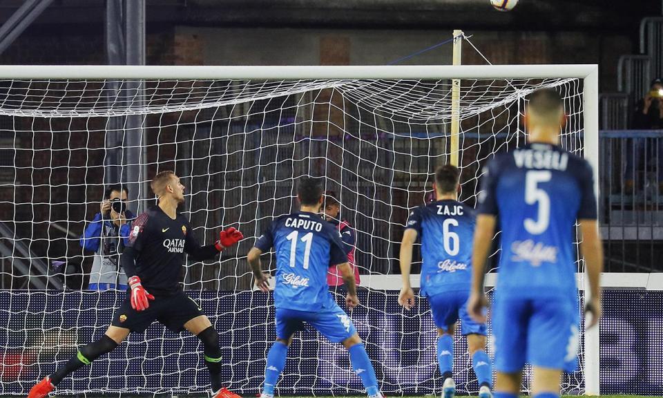 VÍDEO: penálti à Ramos e vitória da Roma em Empoli
