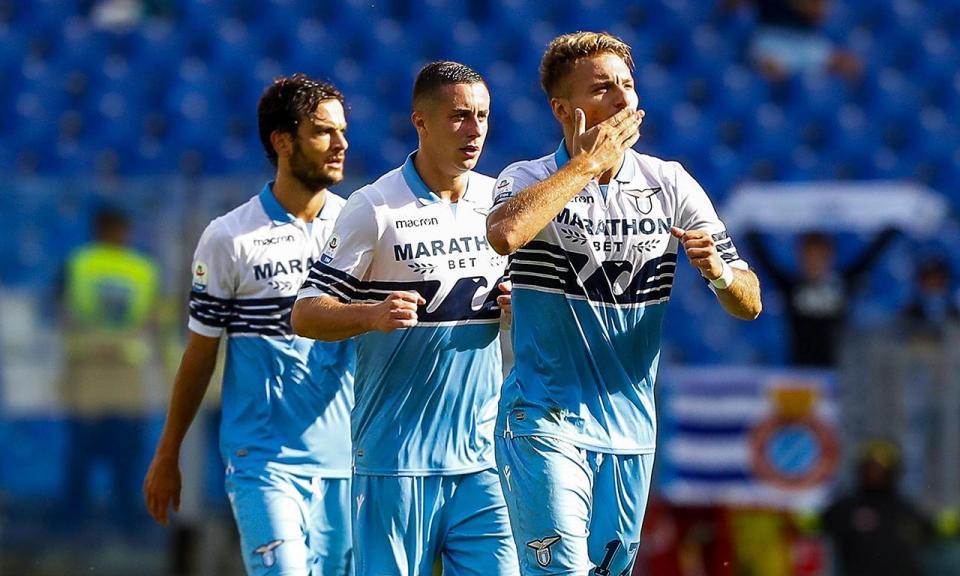 Itália: Lazio goleia SPAL e mantém-se na «zona Champions»
