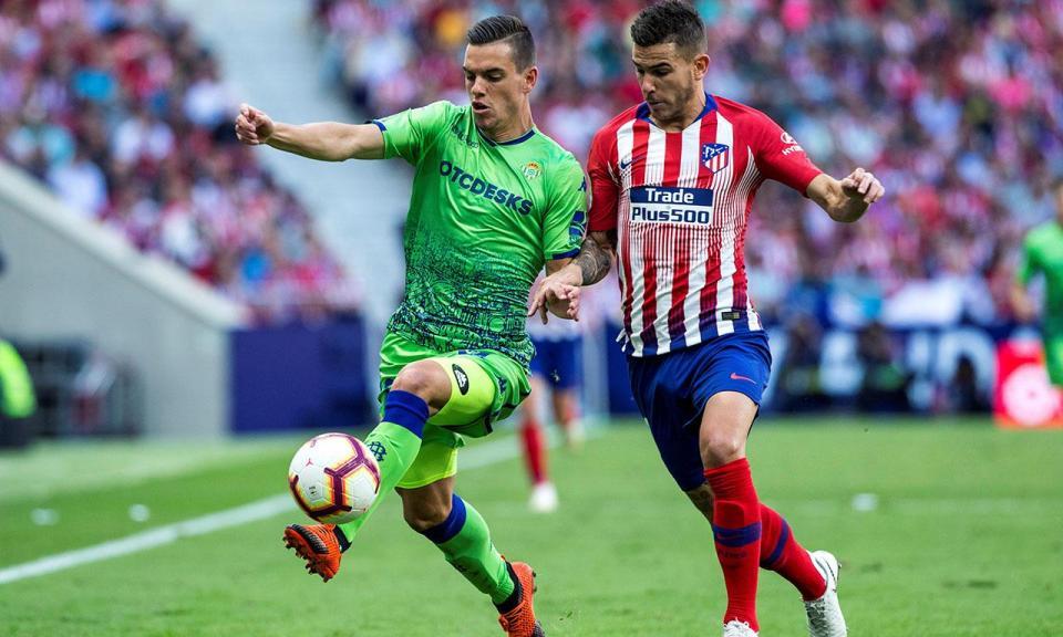 «Os jogadores preferem jogar como o Betis do que como o Atlético»