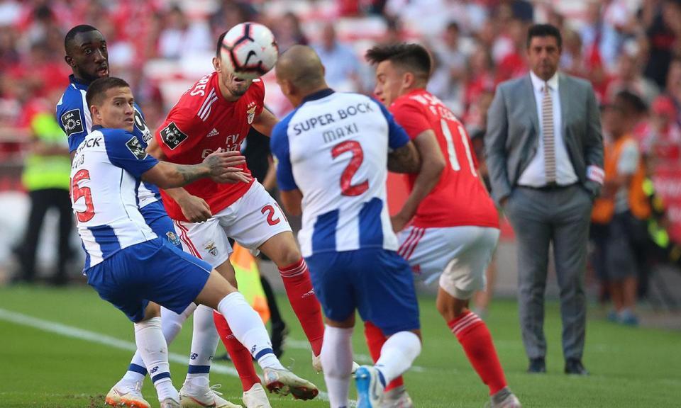 Benfica-FC Porto, 1-0 (resultado final)
