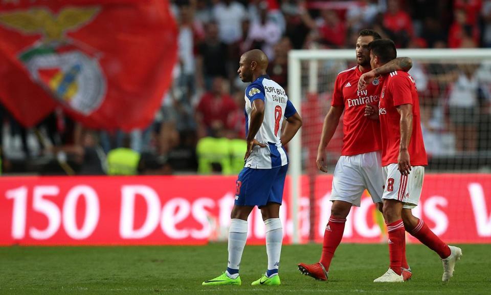 Benfica-FC Porto, 1-0 (destaques das águias)