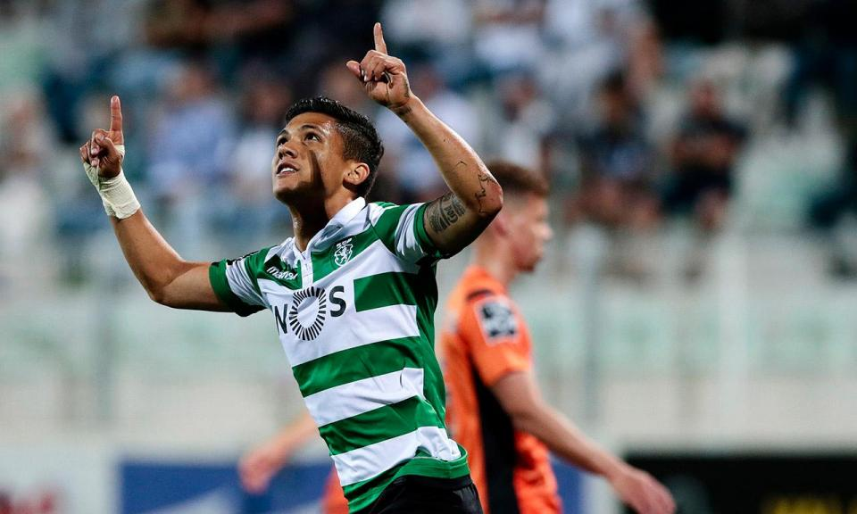 Fredy Montero admite continuar no Sporting
