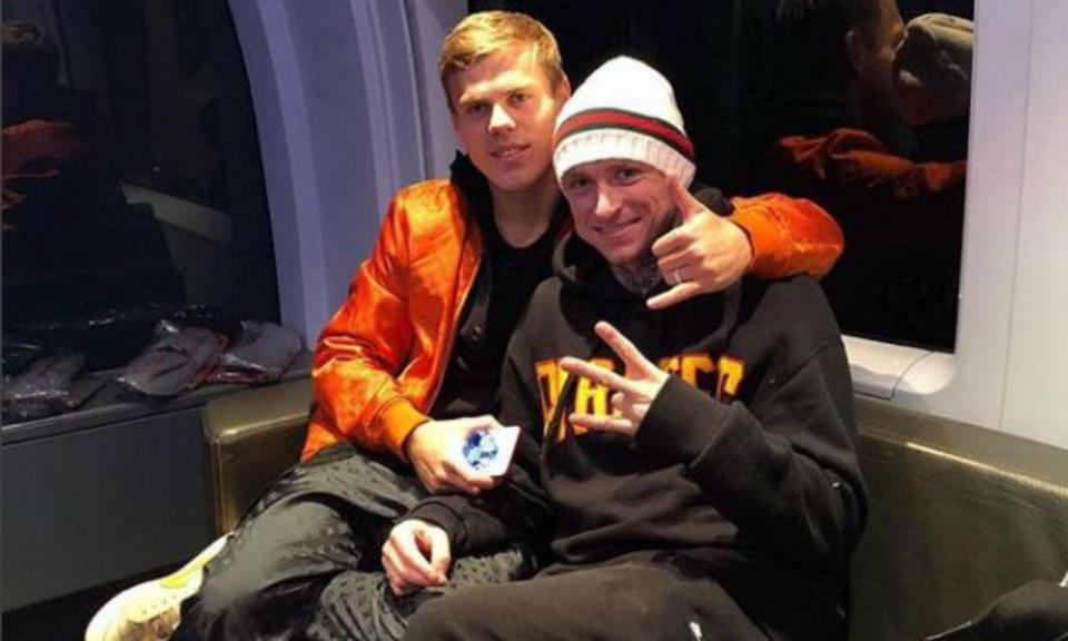 Rússia: Kokorin e Mamaev ficam em prisão preventiva