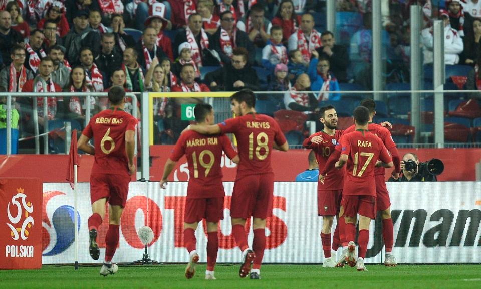 Liga das Nações: todas as contas do grupo de Portugal