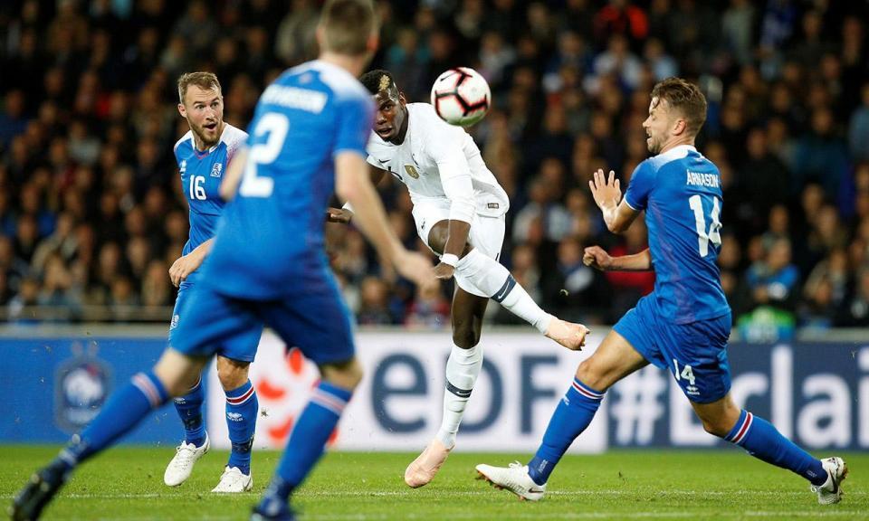 Mbappé evita derrota caseira da França com a Islândia