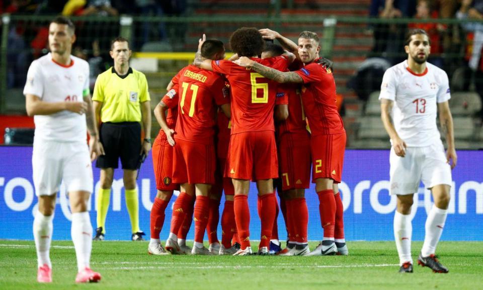 Ranking FIFA  Bélgica isola-se no topo ef51fe5d3aa