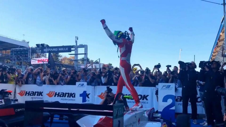 Schumacher é campeão da F3 Europeia