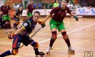 Portugal-Espanha hóquei feminino (site Federação Europeia de Hóquei)