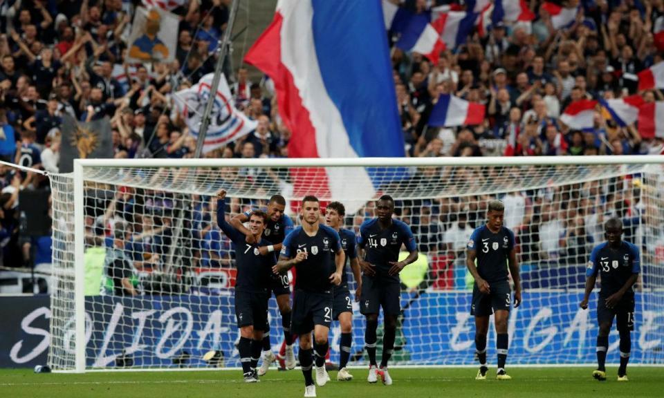 f823d112f9 Griezmann aponta França à final-four... e a Alemanha à Liga B ...