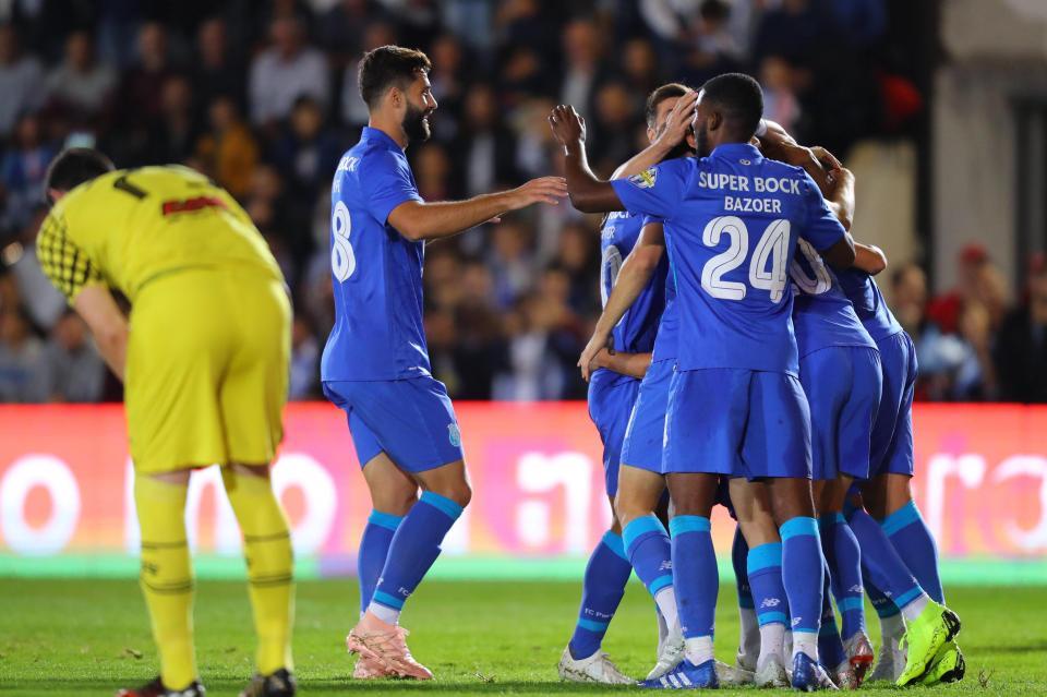 28c1391fd4 Taça  Vila Real-FC Porto