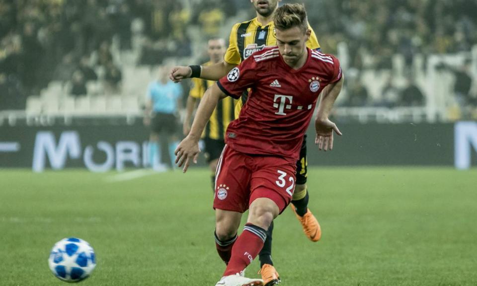 Champions: dois golos de rajada do Bayern pressionam Benfica e Ajax