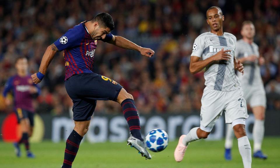 Inter diz que Barça vale receita recorde de equipas italianas