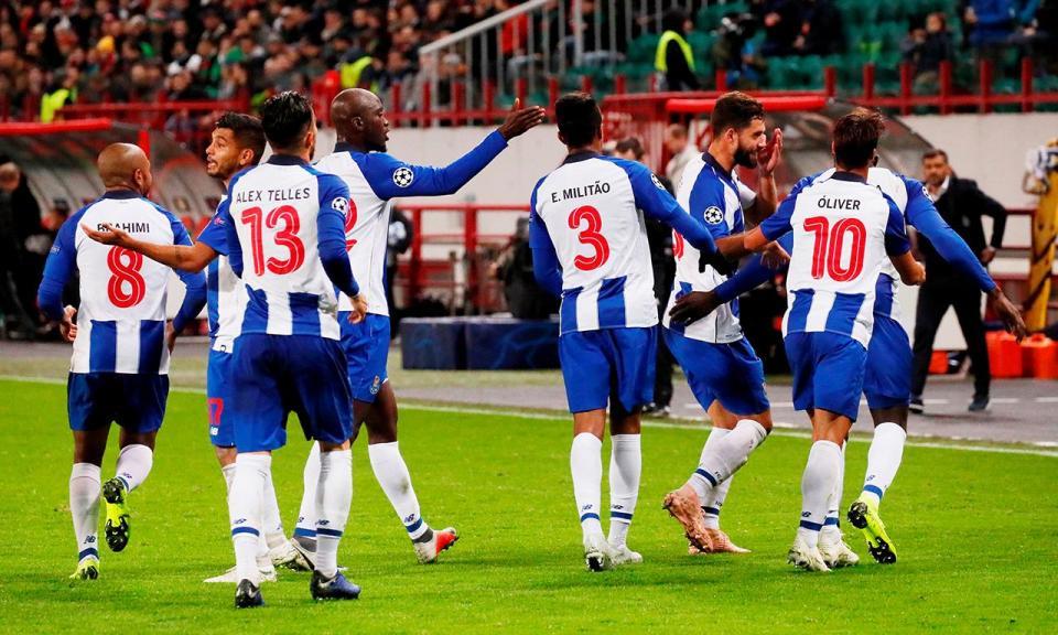 FC Porto: só uma baixa na véspera da receção ao Feirense
