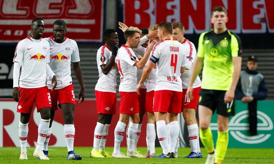 Liga Europa: Bruma marca no triunfo do Leipzig (vídeo)