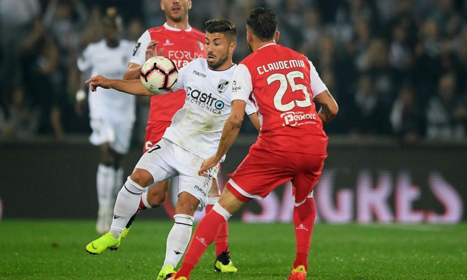 V. Guimarães-Sp. Braga, 1-1 (crónica)