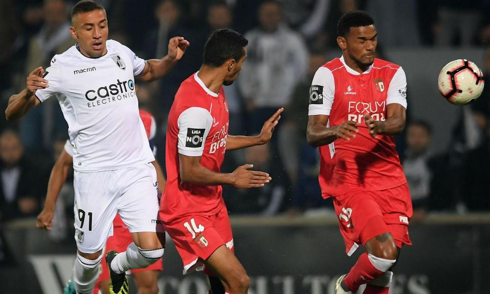 V. Guimarães-Sp. Braga, 1-1 (destaques)
