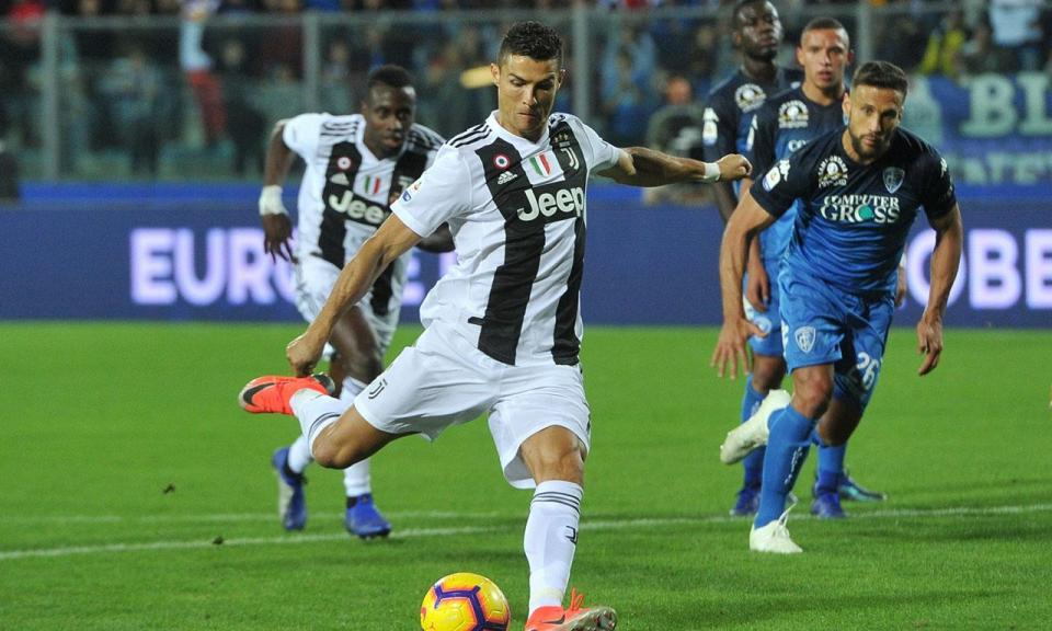 Três portugueses lideram os rankings do campeonato italiano