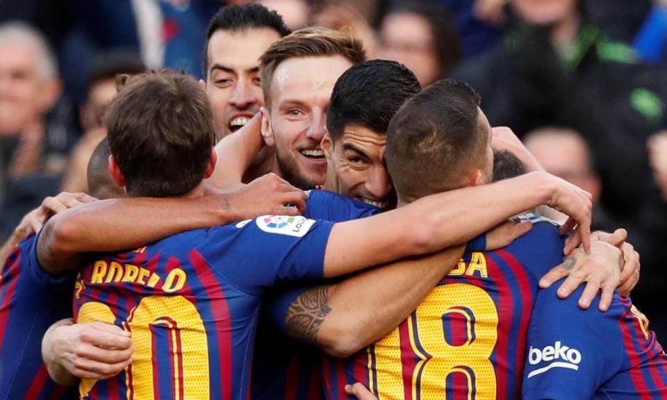 Barcelona precisou dos descontos para bater equipa da 3.ª divisão