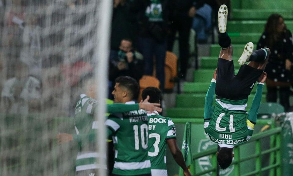 Nani: «Aproveitámos a derrota do Benfica e o empate do Sp. Braga»
