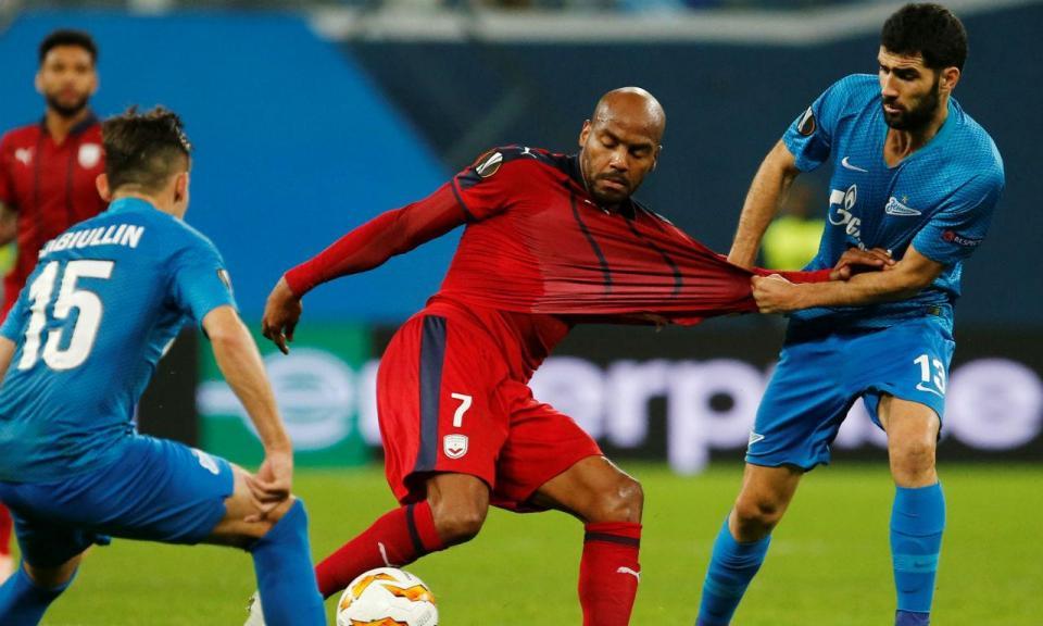 Rússia: Neto titular na eliminação do Zenit da Taça