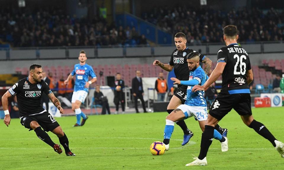 Itália: Empoli despede treinador após goleada diante o Nápoles