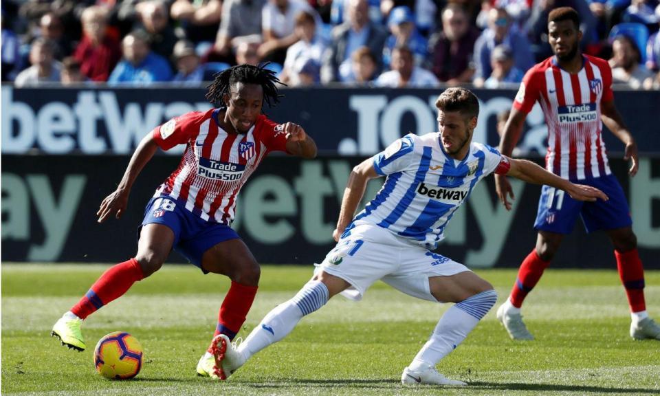 Gelson titular no empate do Atlético de Madrid em Leganés