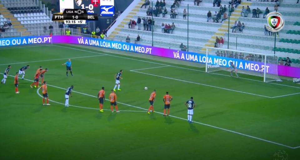VÍDEO: o penálti (com recurso ao VAR) que deu o empate ao Belenenses