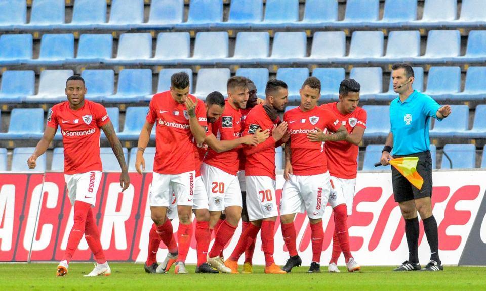 Serginho: «Tivemos azar no lance do primeiro golo»