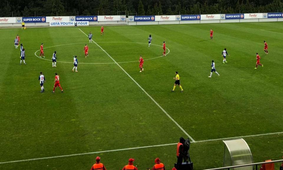 Youth League: FC Porto-Lokomotiv, 2-1 (crónica)