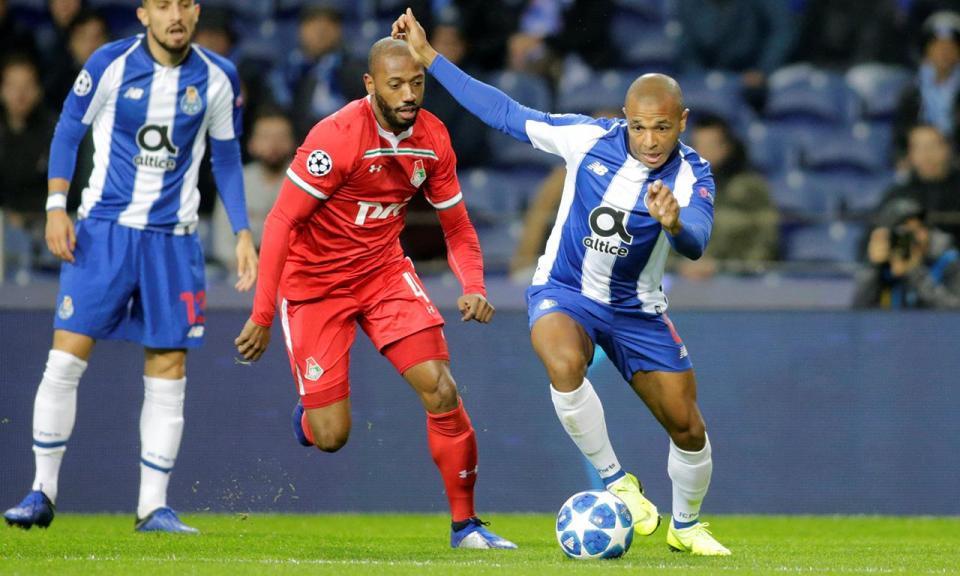Champions: FC Porto-Lokomotiv, 4-1 (resultado final)