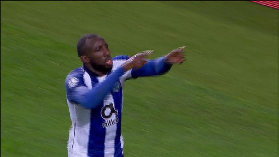 VÍDEO: o golo de Marega que fez o empate para o FC Porto