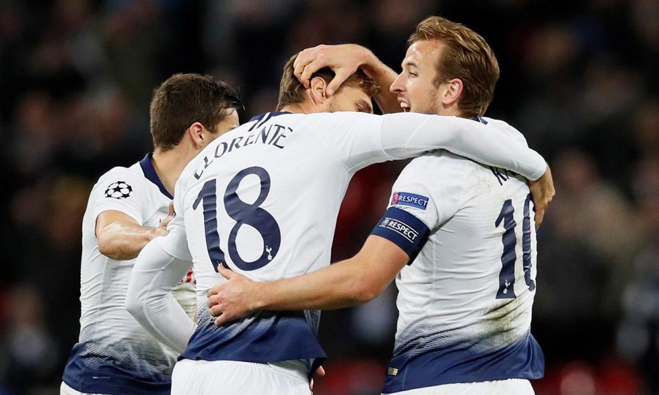 Tottenham vence Crystal Palace e está a apenas dois pontos do City