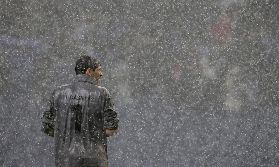 Casillas deseja: «Água para todos»
