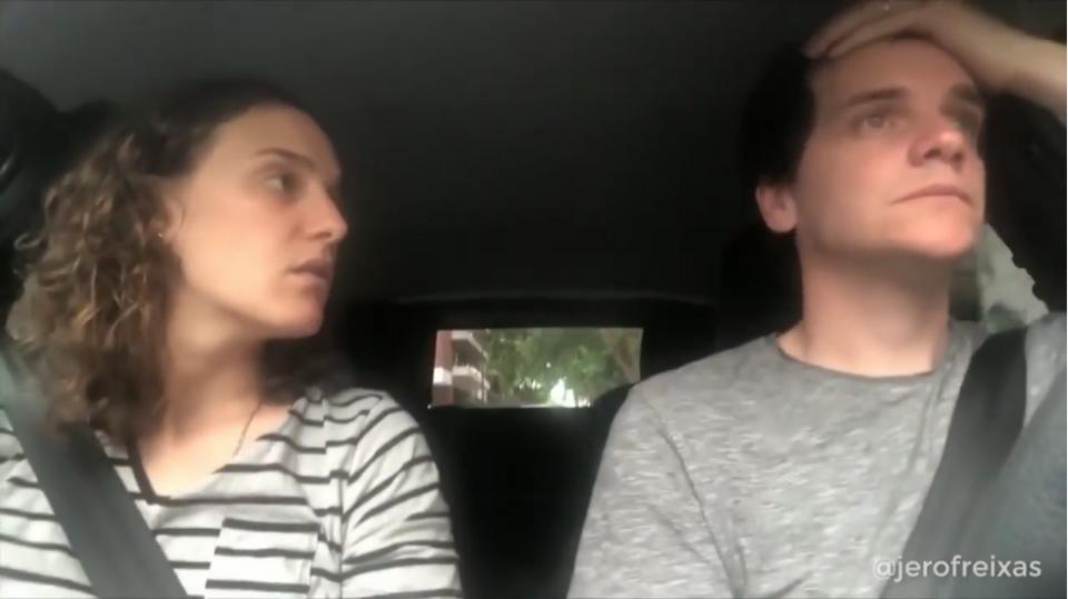 VÍDEO: casal argentino volta a «atacar», agora com o Boca-River