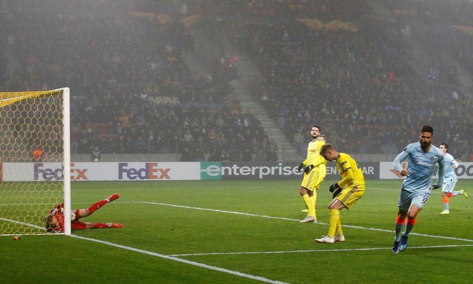Liga Europa: Chelsea apurado após vitória na Bielorrússia