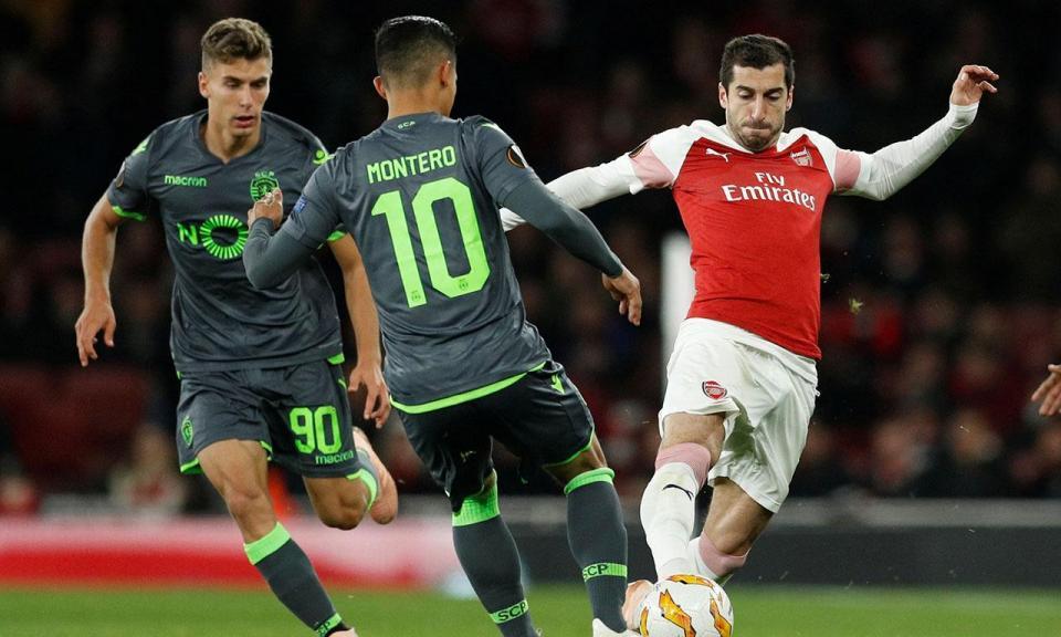 Liga Europa: Arsenal-Sporting, 0-0 (resultado final)