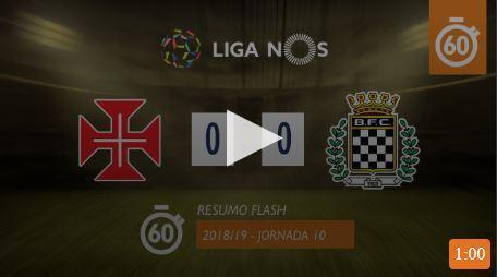 VÍDEO: confira o resumo do Belenenses-Boavista (0-0)