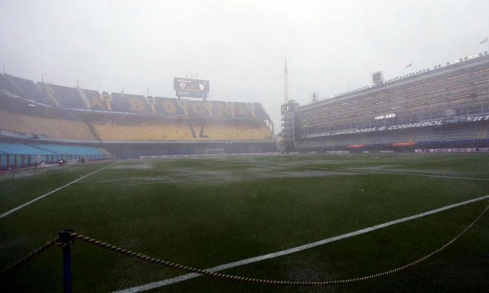 Libertadores: Boca Juniors-River Plate adiado para domingo