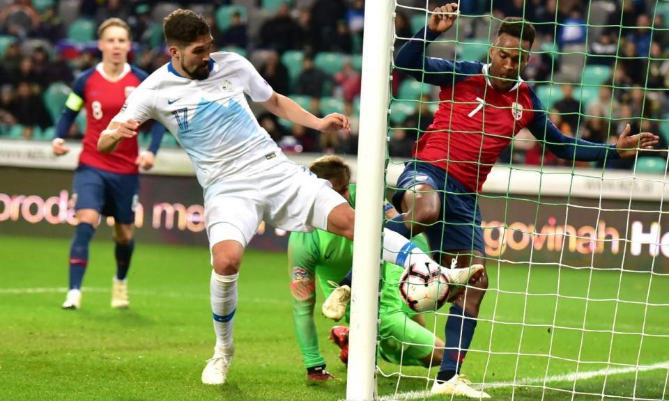 Liga das Nações: empate com Noruega dita descida da Eslovénia