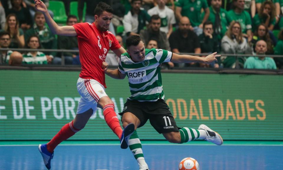 Futsal  acompanhe aqui as incidências do Benfica-Sporting ... 1ba0d5194a603