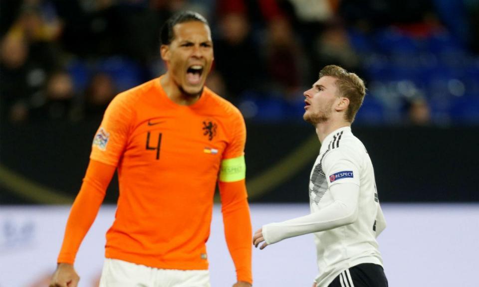 5d40e737ec ... holandeses à Final four. Redação Maisfutebol ·  maisfutebol. Liga das  Nações  reação épica na Alemanha apura Holanda