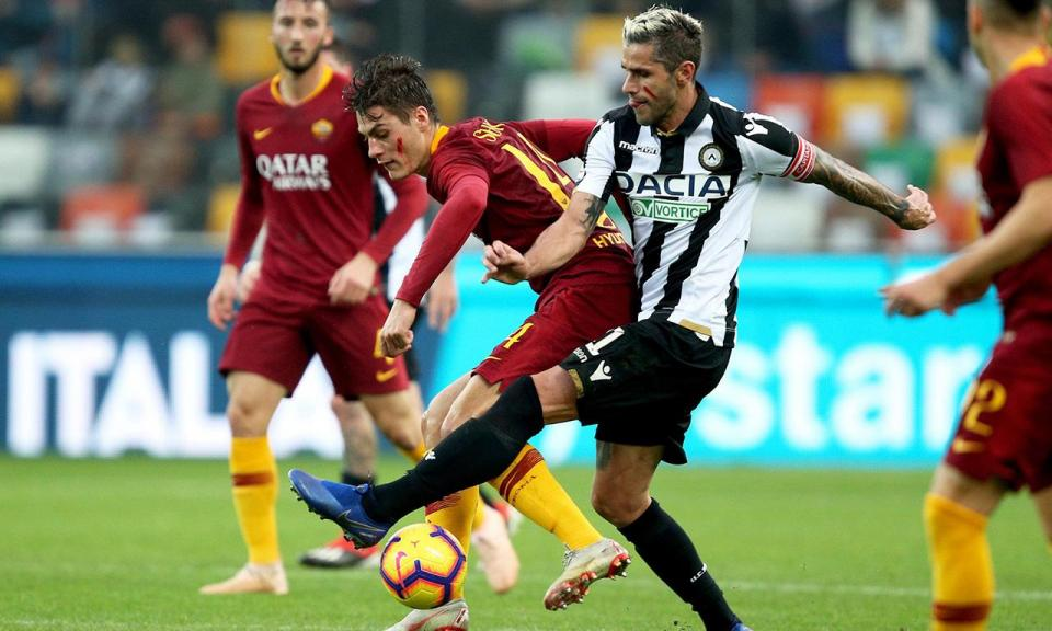 Itália: Udinese vence dois meses depois às custas da Roma