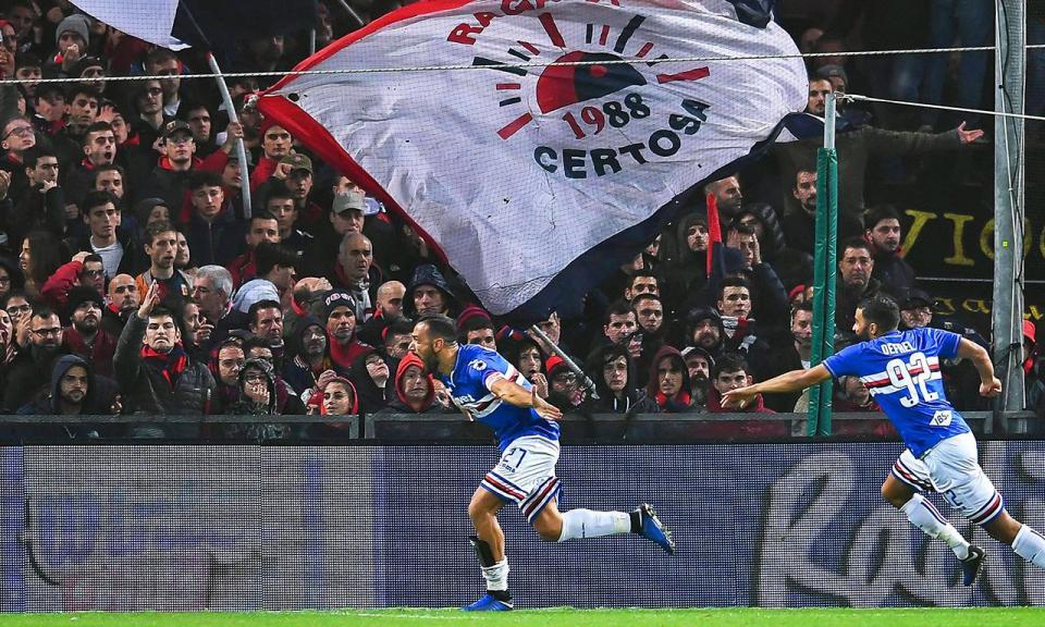 Sampdoria e Bolonha seguem em frente na Taça de Itália