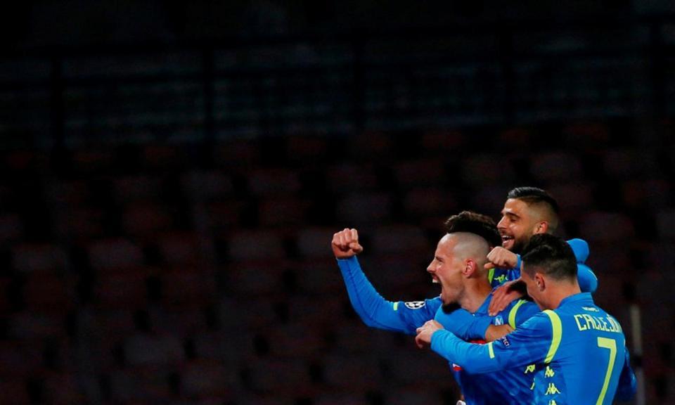 Nápoles responde com goleada à vitória da Juventus