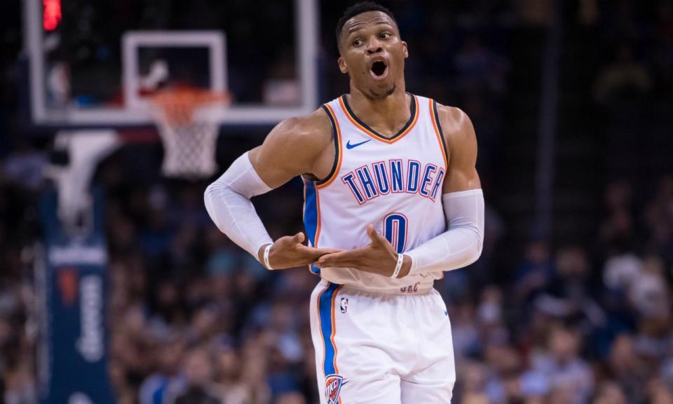 VÍDEO: Westbrook faz história com 10.º triplo duplo consecutivo