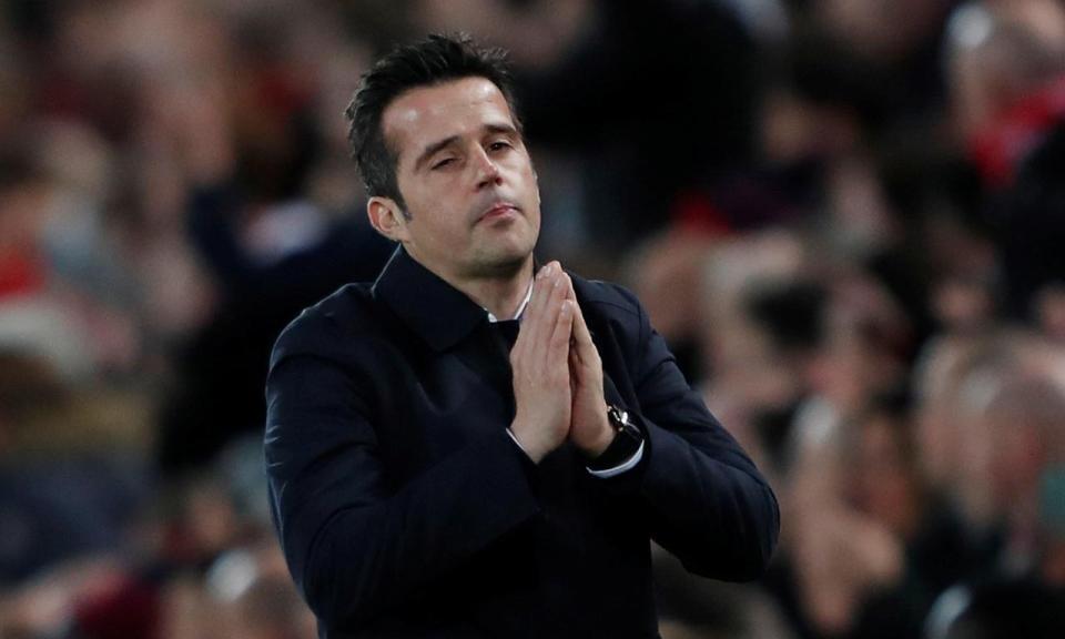 Everton dá voto de confiança a Marco Silva: «Vamos continuar com ele»